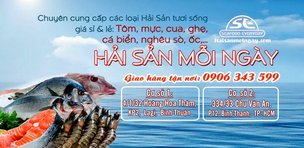 Cung cấp hải sản mỗi ngày