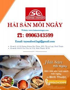 Bảng giá hải sản mỗi ngày