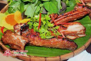 Lườn cá ngừ đại dương nướng