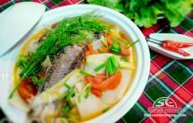 canh cá gáy nấu măng