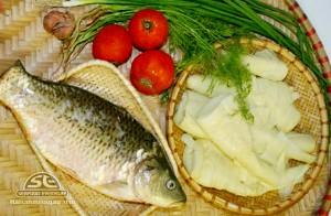 cá gáy nấu măng