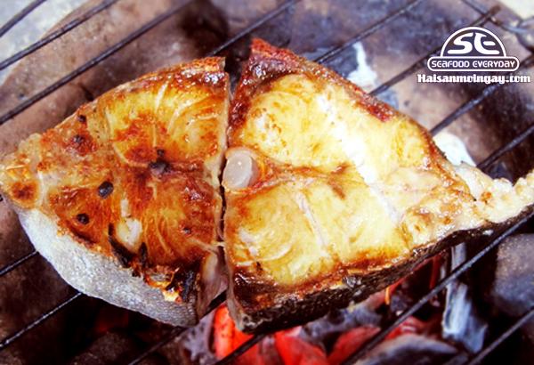Cá bớp nướng muối ớt thơm ngon