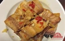 Cá dứa xốt tỏi ớt