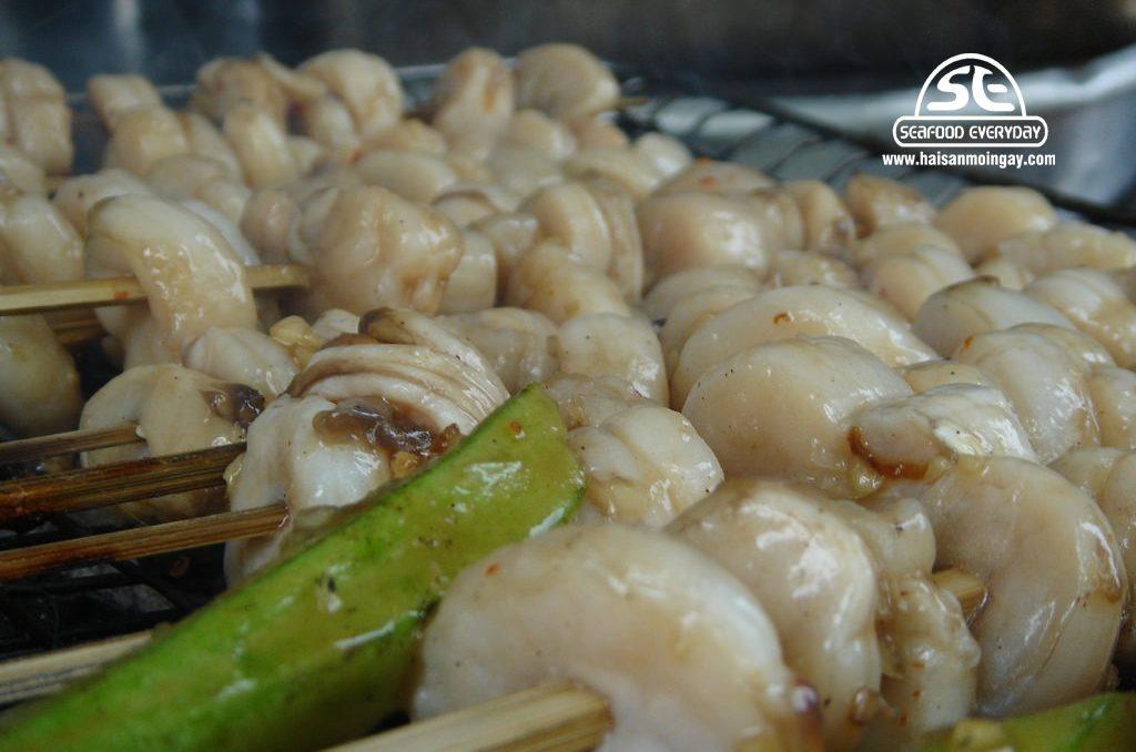 còi sò mai nướng