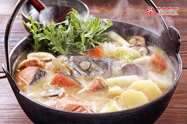 cá wit biển nấu lẩu