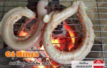 cá ninja nướng mắm nhĩ