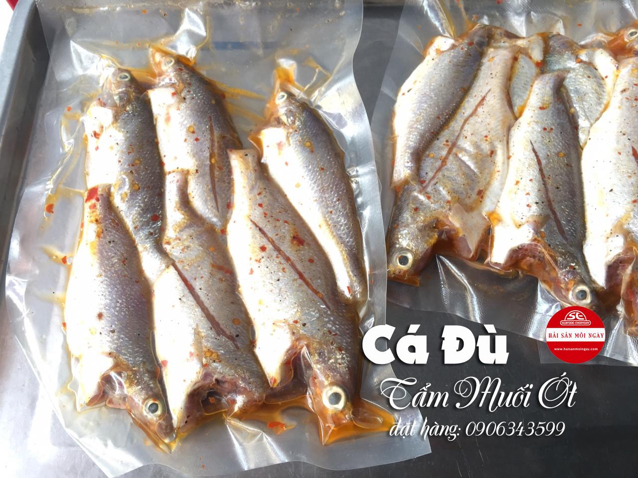 cá đù tẩm muối ớt