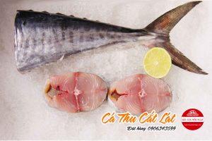 cá thu cắt lát